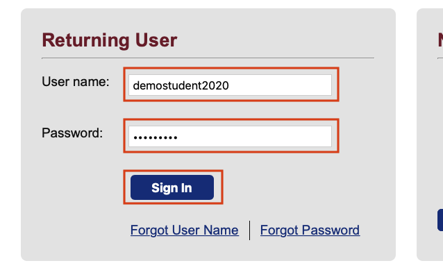 Returning User