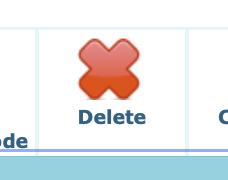 Classの削除(Delete)