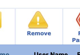 Instructorの登録解除(Remove)